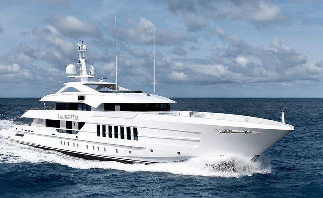Laurentia yacht charter Heesen Motor Yacht