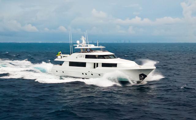 Lady JJ yacht charter Westport Yachts Motor Yacht