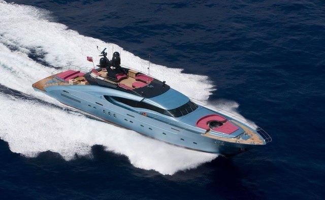 Waverunner charter yacht exterior designed by Nuvolari Lenard