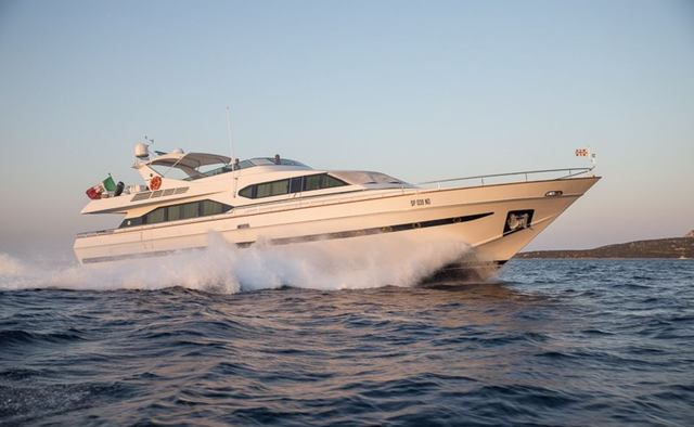 Pierpaolo IV yacht charter Costruzioni Navali Tigullio Motor Yacht