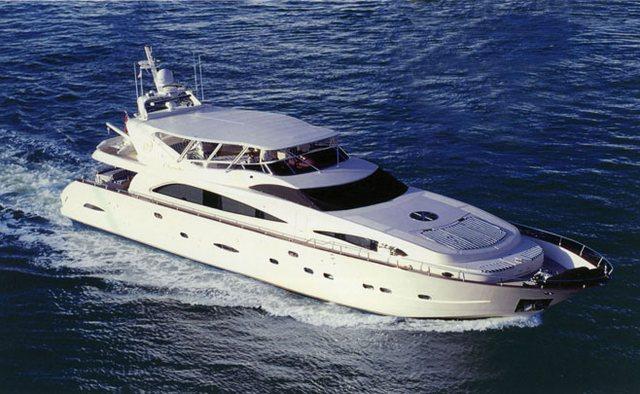 Virginia Mia charter yacht exterior designed by Astondoa