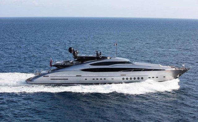 Silver Wave yacht charter Palmer Johnson Motor Yacht