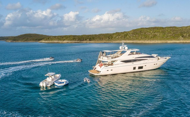 Lady Cope yacht charter Princess Motor Yacht
