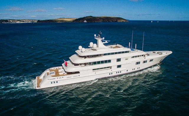 Lady E yacht charter Amels Motor Yacht