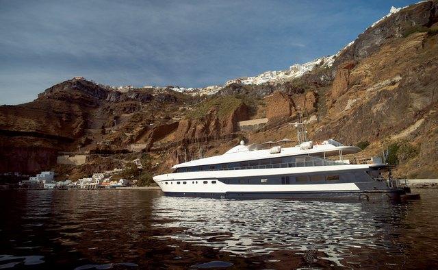 Harmony G yacht charter Piraeus Motor Yacht