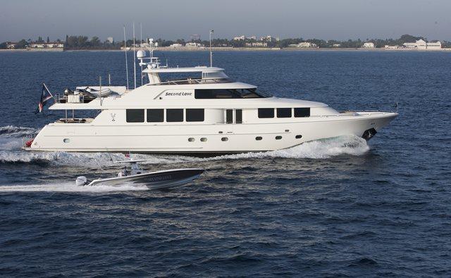 Second Love yacht charter Westport Yachts Motor Yacht