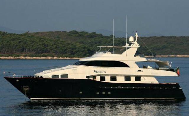 Lady Malak Yacht Charter in St Tropez