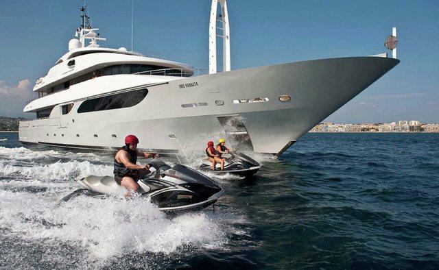 Rarity yacht charter Rossi Navi Motor Yacht
