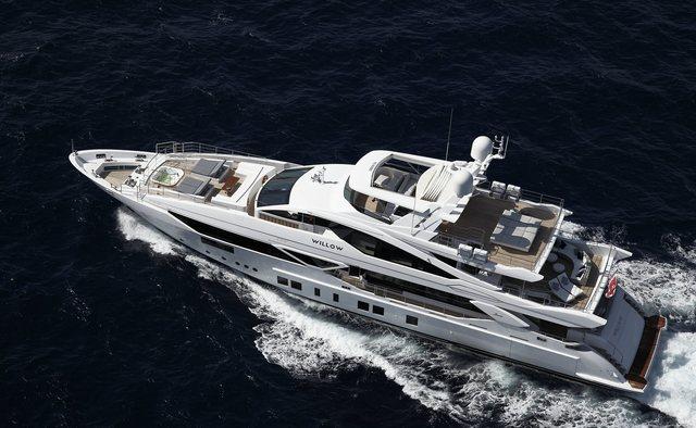 Willow yacht charter Benetti Motor Yacht