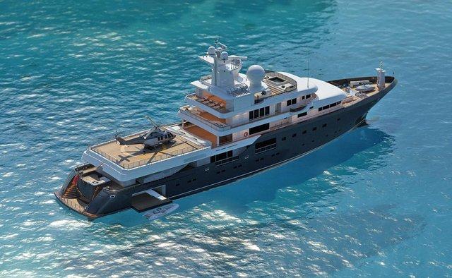 Planet Nine yacht charter Admiral Yachts Motor Yacht