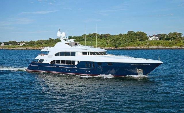 Alessandra yacht charter Trinity Yachts Motor Yacht