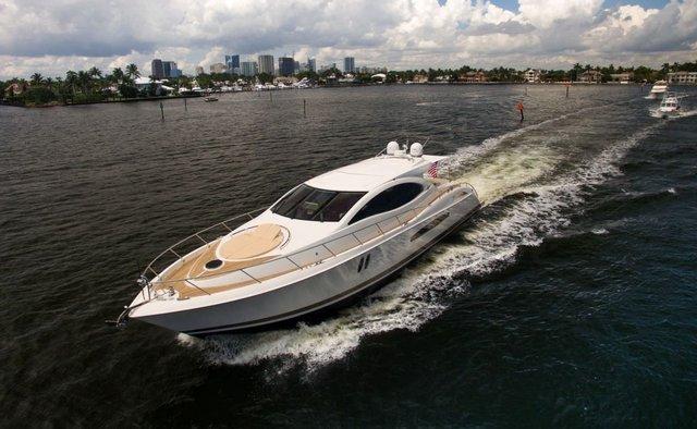 Lady H yacht charter Lazzara Motor Yacht