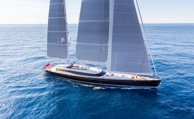 Q yacht charter Alloy Yachts Sail Yacht