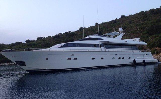 Venus Vistoria yacht charter Falcon Motor Yacht