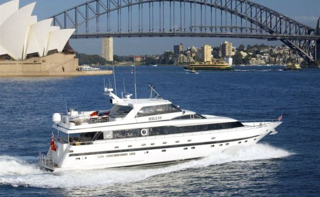 Hillsy yacht charter Monte Fino Motor Yacht