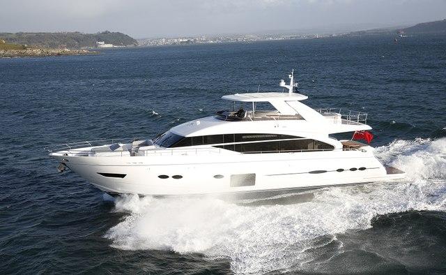 Minx yacht charter Princess Motor Yacht