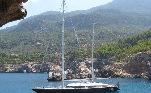 Jasali II yacht charter Perini Navi Sail Yacht