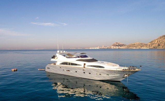 Karayel yacht charter Astondoa Motor Yacht