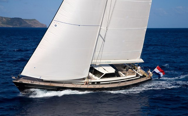 Icarus yacht charter Jongert Sail Yacht