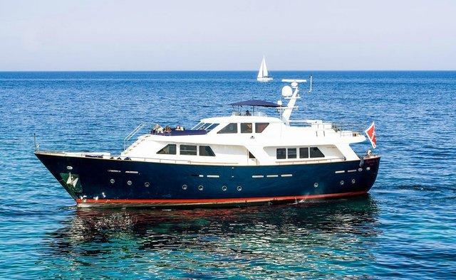 Raymond Du Puy yacht charter Benetti Sail Division Motor Yacht
