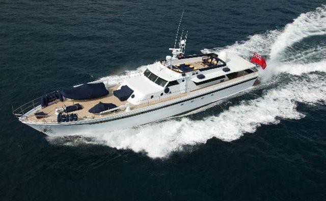 Chantella yacht charter Chantier Naval d'Antibes Motor Yacht