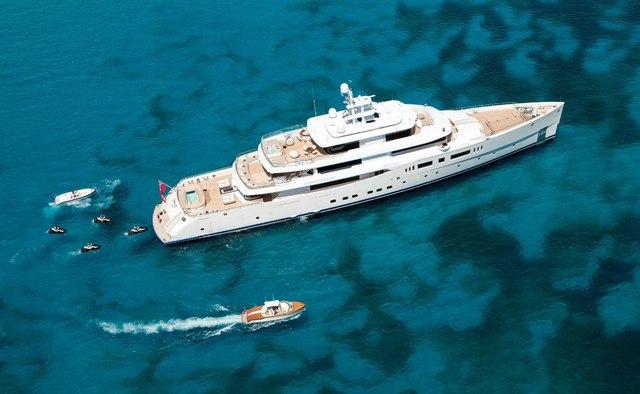 Nautilus yacht charter Picchiotti Motor Yacht