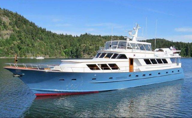 Reflections yacht charter Broward Motor Yacht