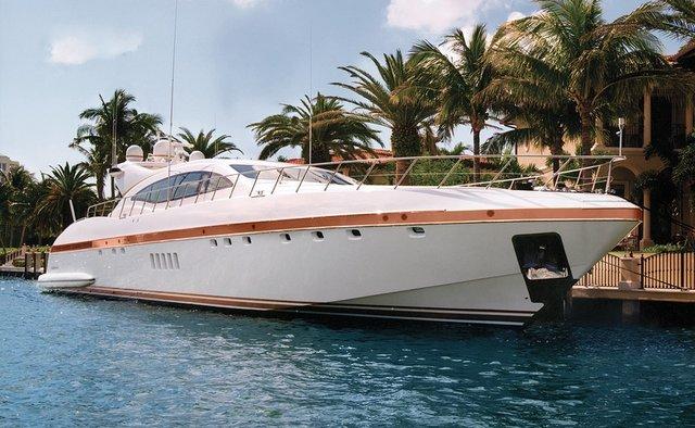 Yalla yacht charter Overmarine Motor Yacht