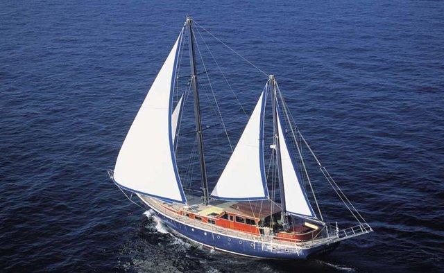Almyra yacht charter Custom Motor/Sailer Yacht