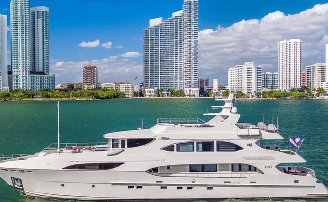 Sweet Caroline yacht charter IAG Yachts Motor Yacht