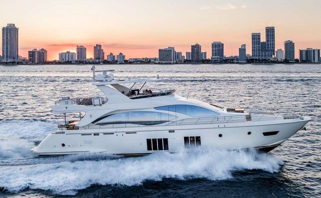 Phoenix yacht charter Azimut Motor Yacht