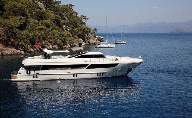 Archsea yacht charter HG Yachts Motor Yacht