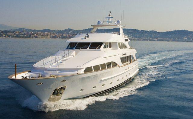 Inouis yacht charter Benetti Motor Yacht