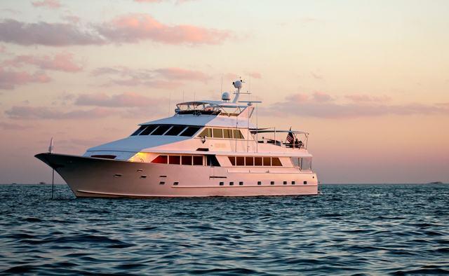 Ocean Drive yacht charter Broward Motor Yacht