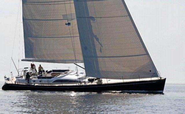Alchemy IV yacht charter Nautor's Swan Sail Yacht