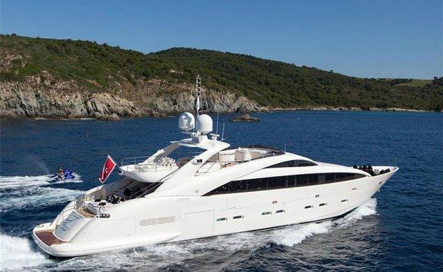 Whispering Angel yacht charter ISA Motor Yacht