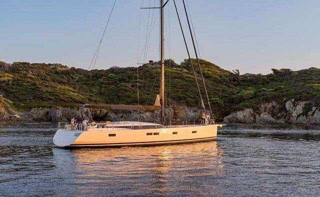 GIGI OF LYMINGTON Yacht Charter in Anegada Island