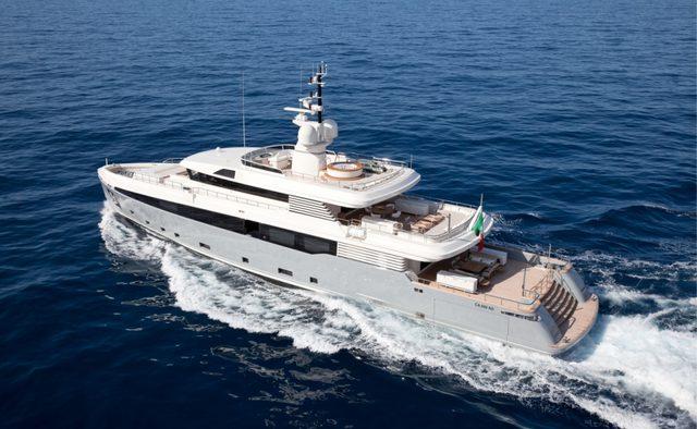 Aslec 4 yacht charter Rossinavi Motor Yacht