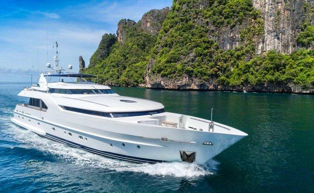 Xanadu of London Yacht Charter in Indonesia