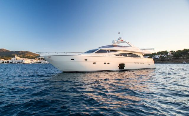 Monticello II yacht charter Ferretti Yachts Motor Yacht