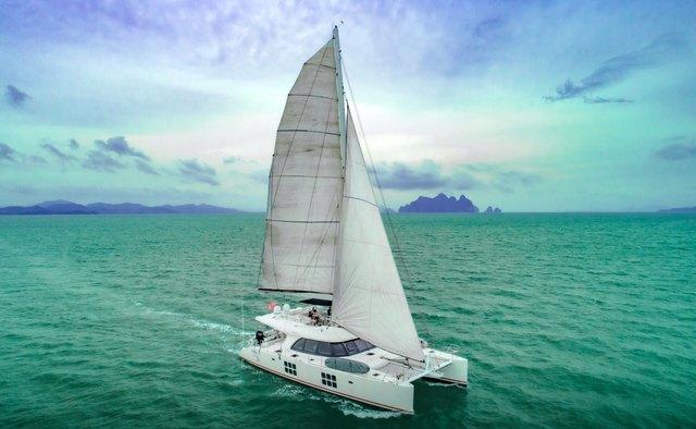 In The Wind yacht charter Sunreef Yachts Sail Yacht
