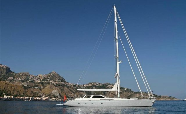 Silver Lining Yacht Charter in Indian Ocean
