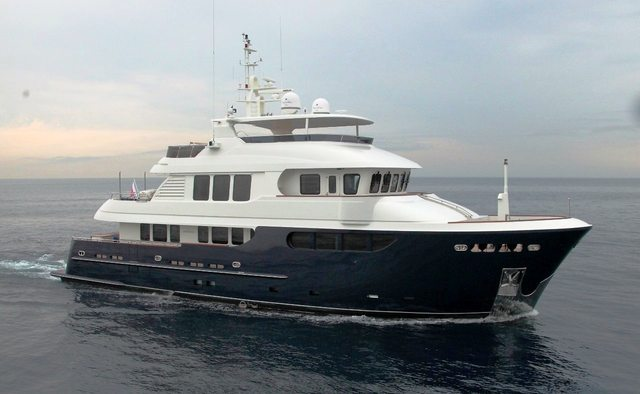Smiling T yacht charter  Motor Yacht