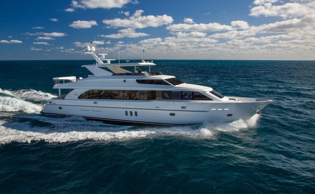 Seas the Day yacht charter Hargrave Motor Yacht