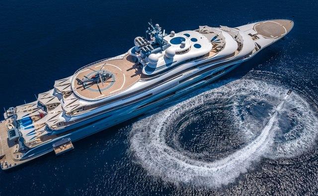 Flying Fox yacht charter Lurssen Motor Yacht