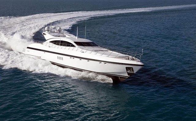 Veyron yacht charter Overmarine Motor Yacht
