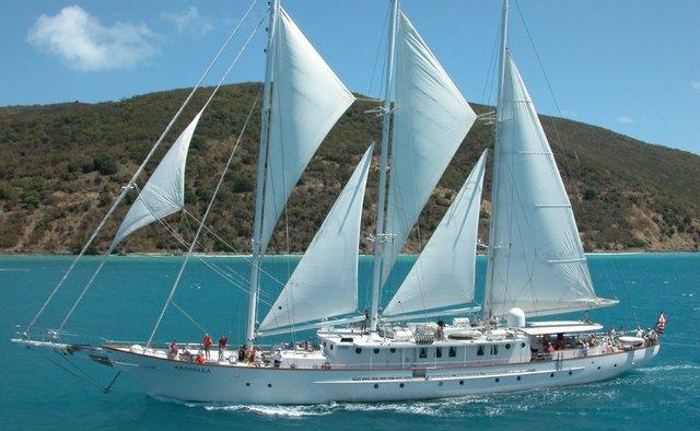 Arabella II yacht charter Palmer Johnson Sail Yacht