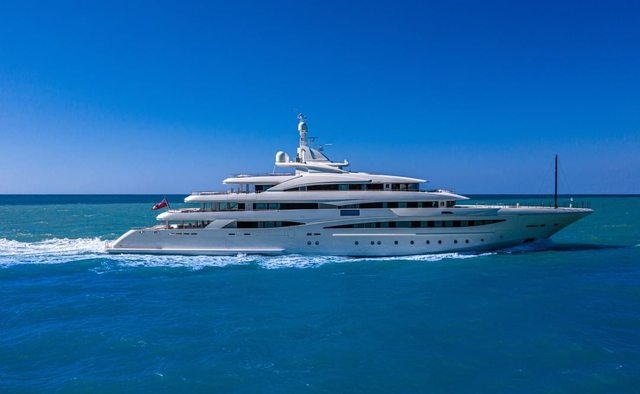 Mimtee yacht charter CRN Motor Yacht