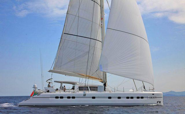 Orion yacht charter Catana Motor/Sailer Yacht