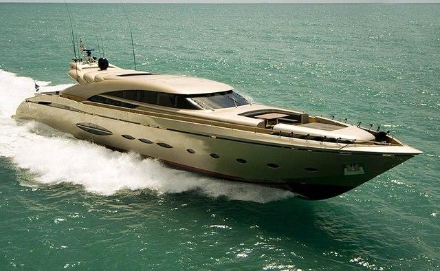 Tuasempre charter yacht interior designed by Studio Vafiadis
